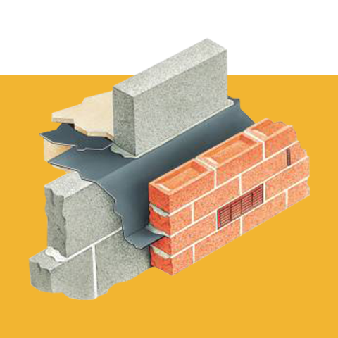Cavity trays cavity closer dampcourses dpc cavity vents cavity