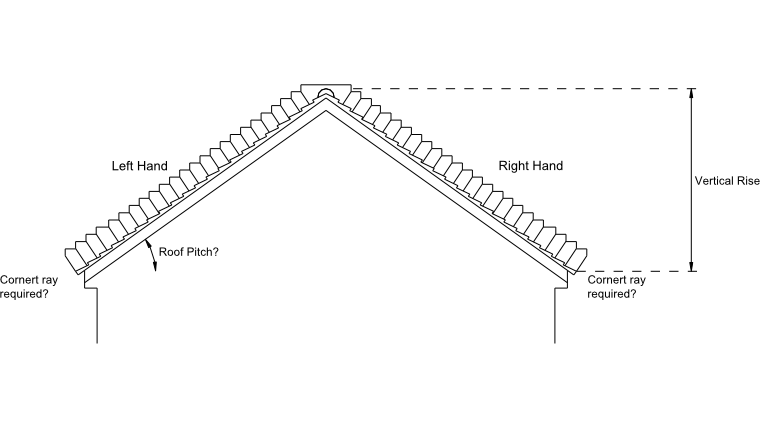 Stepped Cavity tray diagram with dimensions