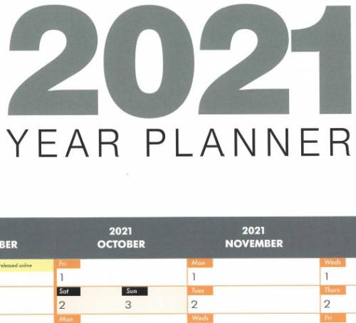 Cavity Trays Year Planner - Request yours today!