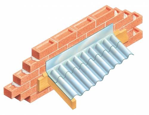 Type F Corrugated Flashing Cavity Trays Limited